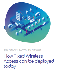 How Fixed Wireless Access can be deployed today
