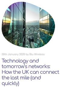 Tech for Tomorrows networks