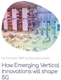 how emerging verticals