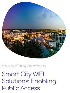 smart city wifi solutions